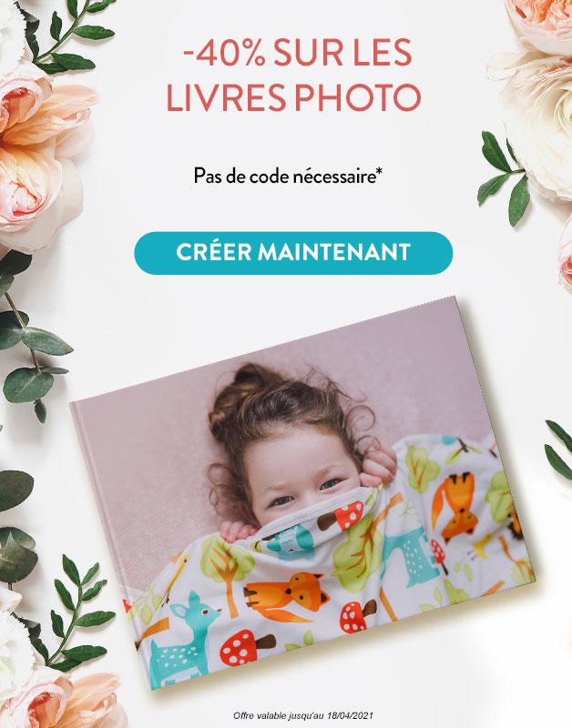 -40% sur les Livres Photo