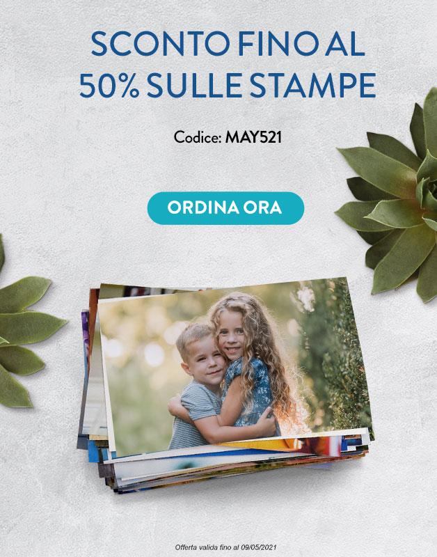 Stampe Fino a  -50%