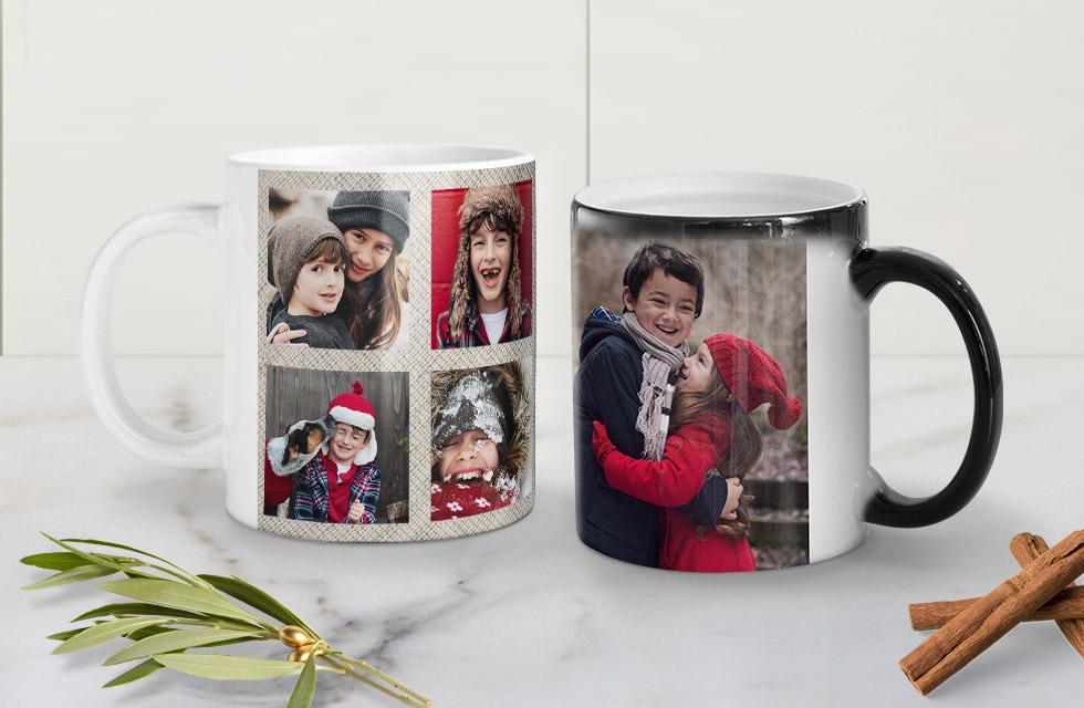 Crea una tazza con foto Collage!