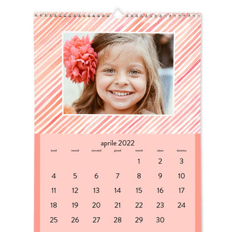 Calendario personalizzato Classico