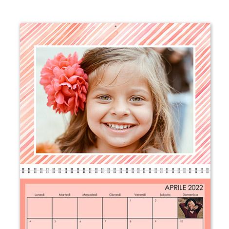 Calendario personalizzato Creativo L