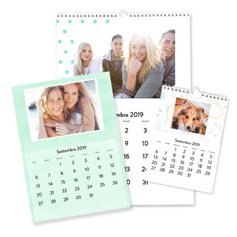 Calendario Fotografico Personalizzato.Crea E Stampa Foto Calendari E Calendari Personalizzati