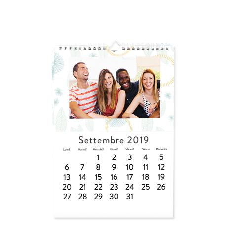 Foto Calendario Classico Formato A4