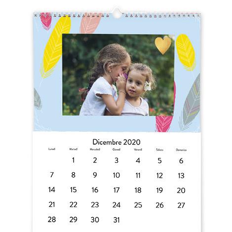 Foto Calendario Classico Formato A3