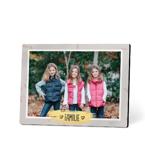20x25 cm Foto auf Holz