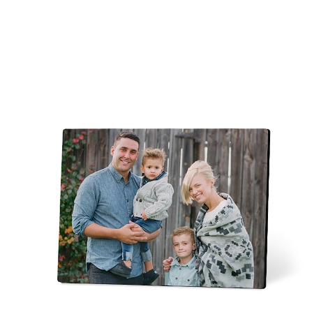 13x18 cm Foto auf Holz