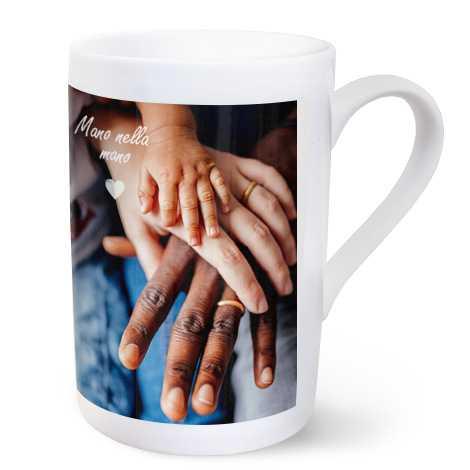 Tazza personalizzata in porcellana