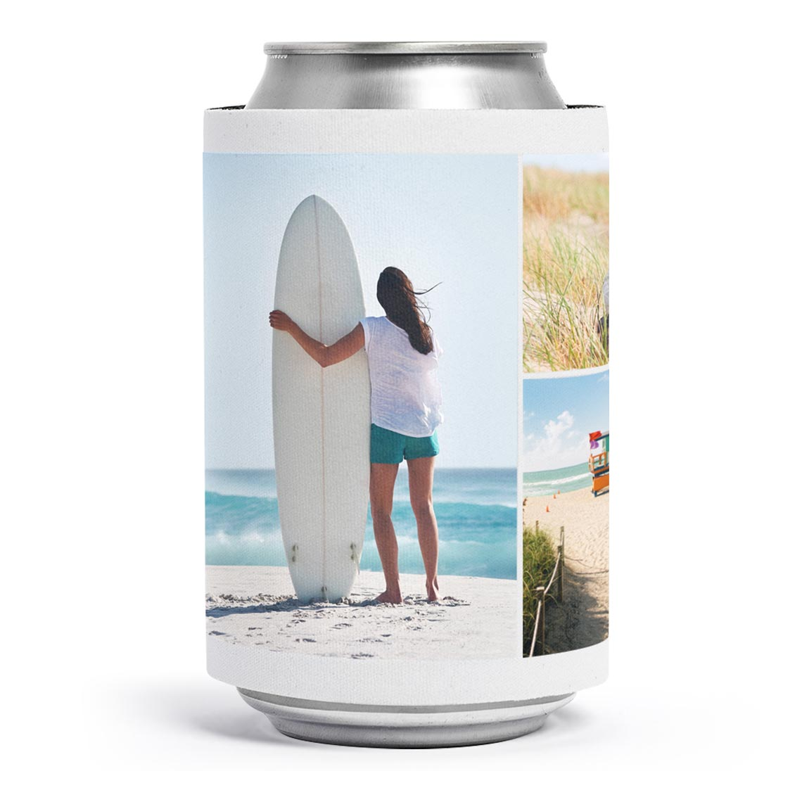 Icon Collage Stubby Cooler