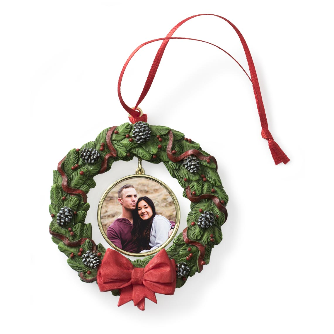 Icon Wreath Ornament