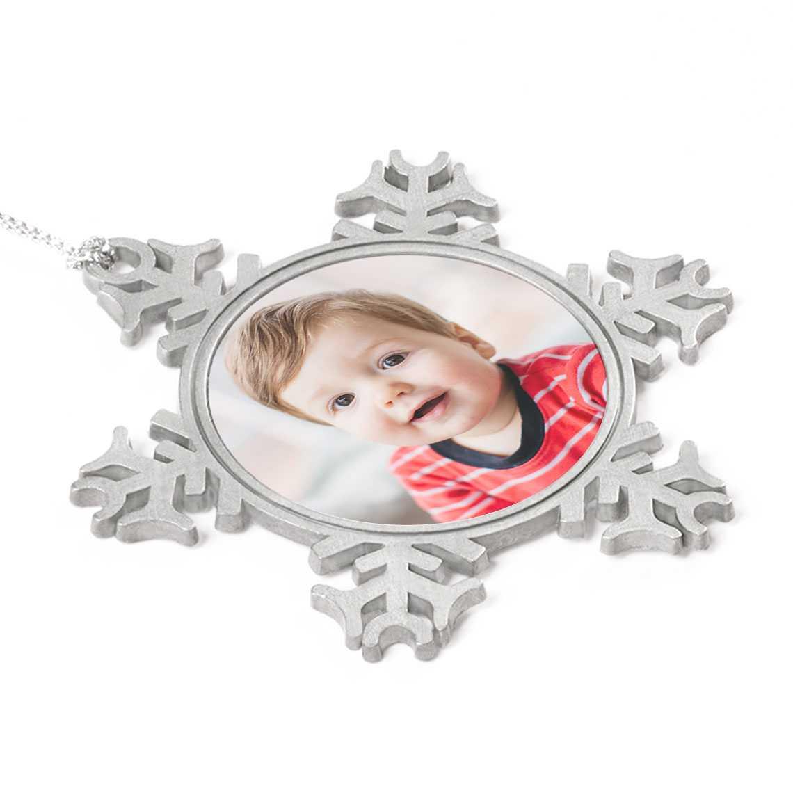 Icon Snowflake Ornament