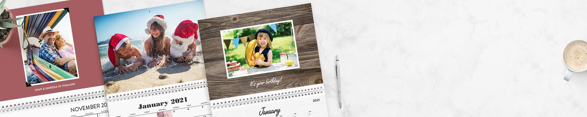 Personalised Calendars 2021