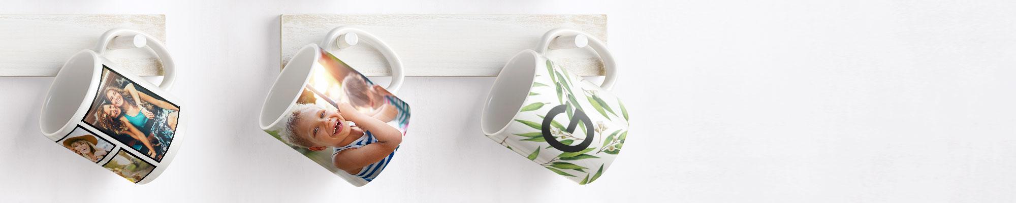 Photo Mugs + Drinkware