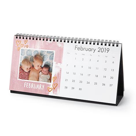 Photo Calendars Desk Wall Calendars Snapfish AU