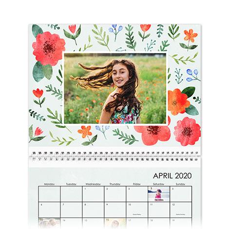 20x28cm Wall Calendar