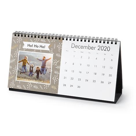 12.5x25cm Desk Calendar