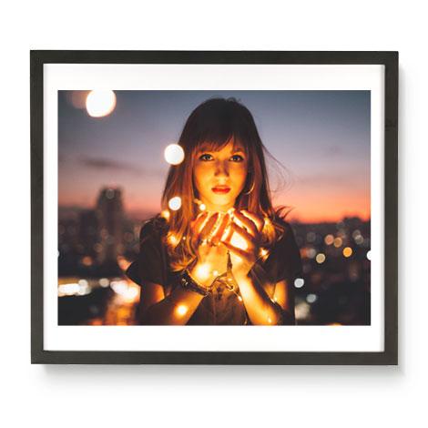 40x47cm Framed Poster (30x40cm Image)