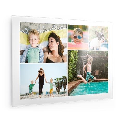 50x75cm Collage Glass Print