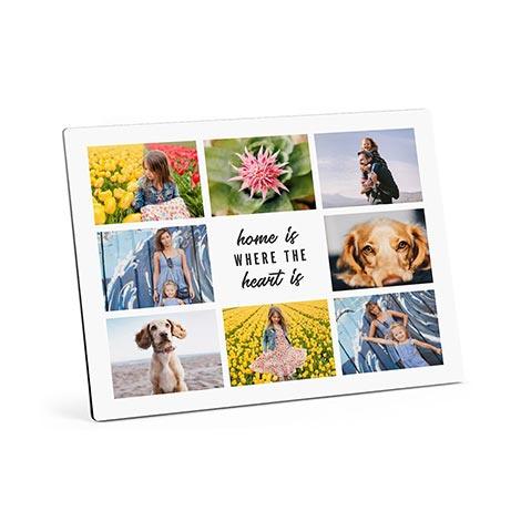 Icon Collage Photo Panels