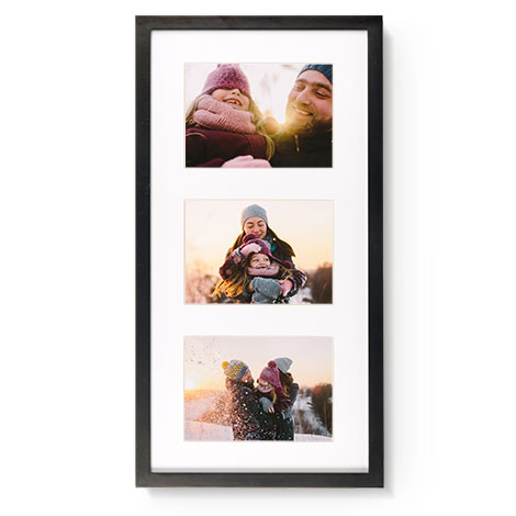 28x53cm Framed Print (18x13cm Images)