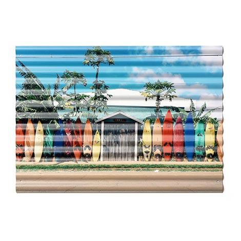 42x60cm (A2) Corrugated Iron Print