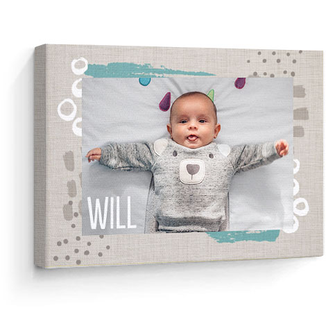 Canvas print. Baby theme
