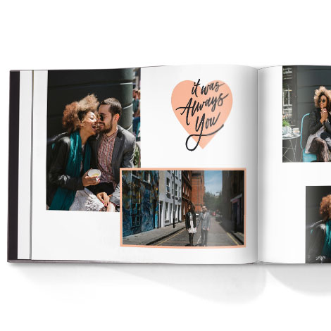 Photo book. Simply love theme
