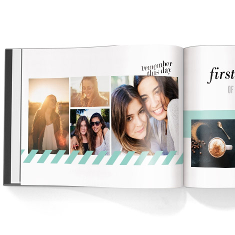 Photo book. Snapshot theme