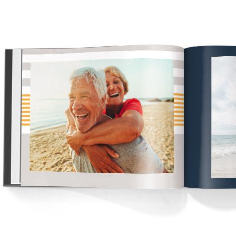 Photo book. Nautical theme