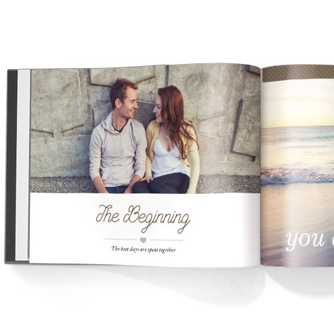 Photo book. Precious experiences theme