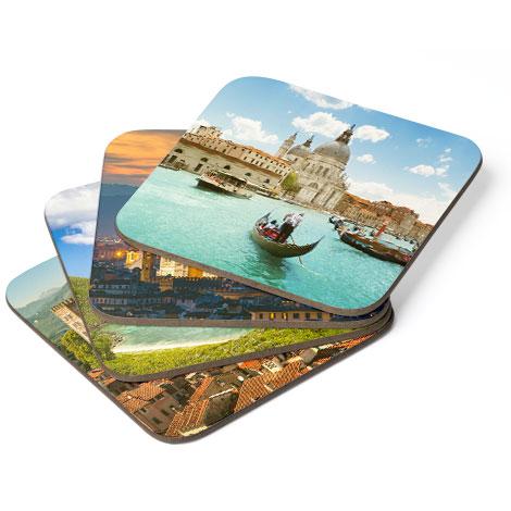 Set of coasters