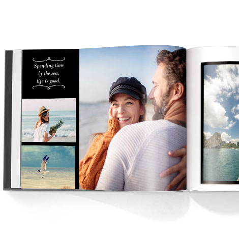 Photo book. Honeymoon theme