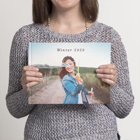 """20x28cm (8x11"""") Landscape Photo Books"""