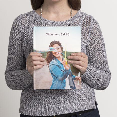 "28x20cm (11x8"") Portrait Photo Books"