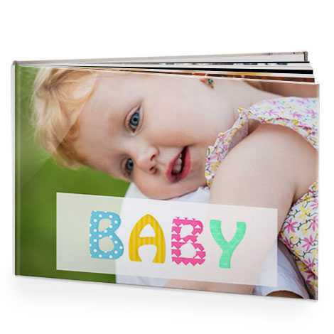 Baby photo books