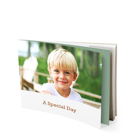 "13x18cm (5x7"") Softcover Photo Book"