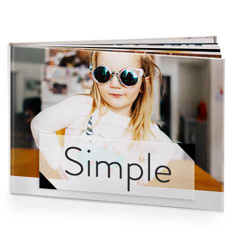 Simple and elegant photo books