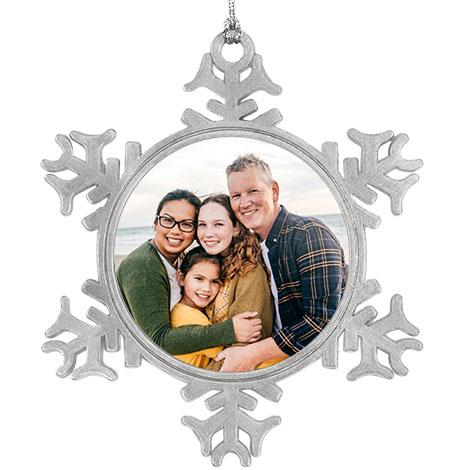 Aluminium Ornament - Snowflake