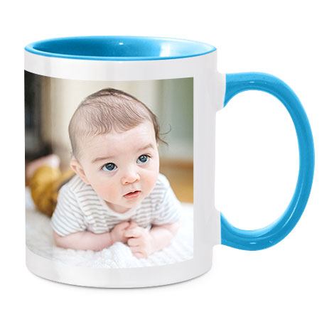 Coloured Mug, Blue