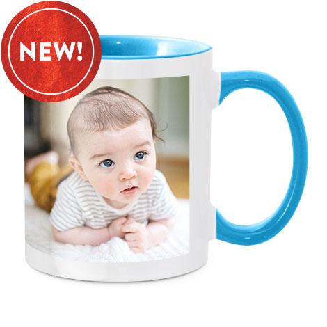 Coloured Mug, Blue