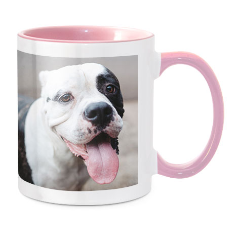 Coloured Mug, Pink