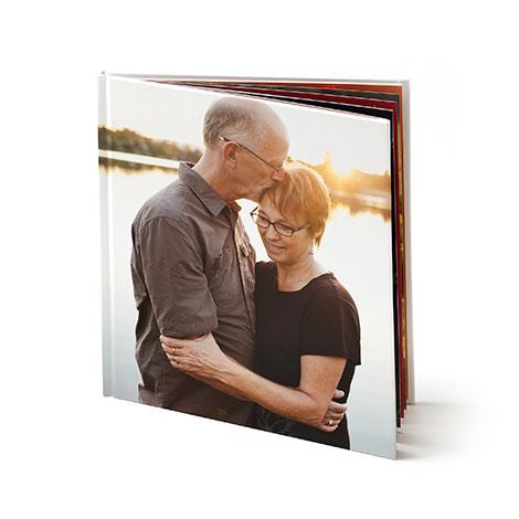 "12x12"" Hard Custom Cover Photo Book"