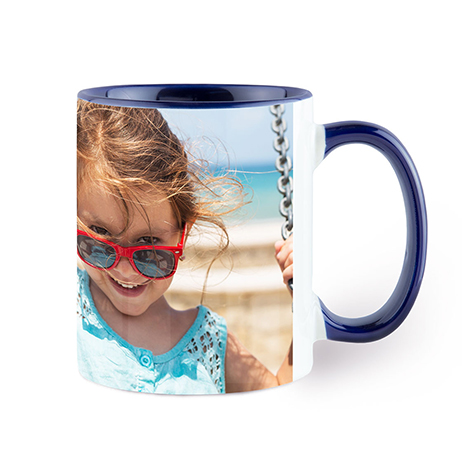 Icon Navy Colorful Mug