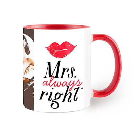 Red Colorful Mug