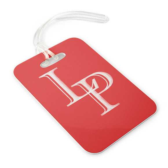 Icon Luggage Tag