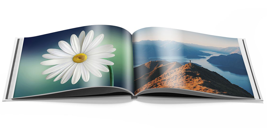Our photo books with glossy paper adds depth and clarity to your photos