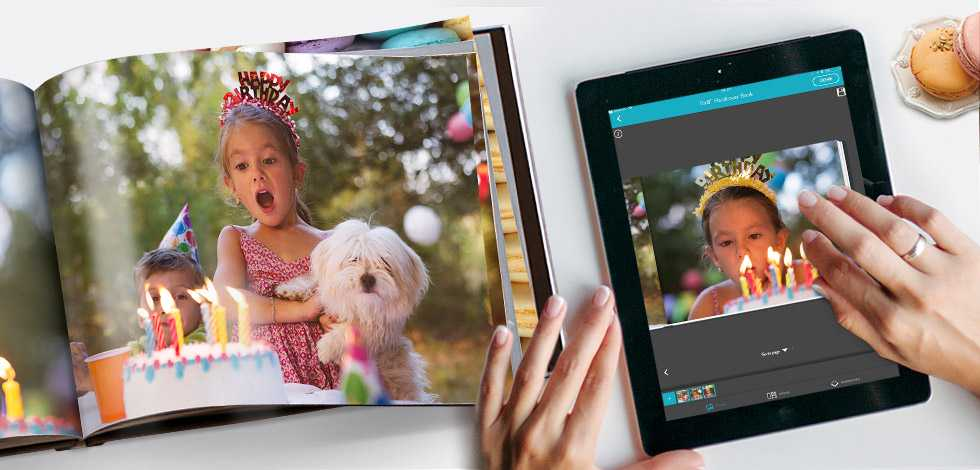 Personalised Photo Books on the go with the App