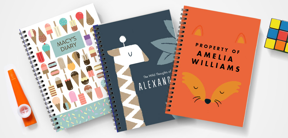 Keep Them Organised with a Custom Notebook