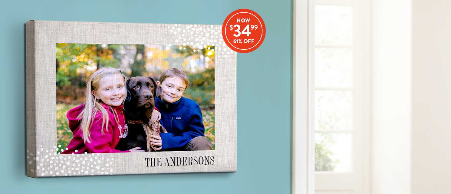 Cozy up for fall : Bring autumn into your home with 16x20 canvases. Use CANV3499