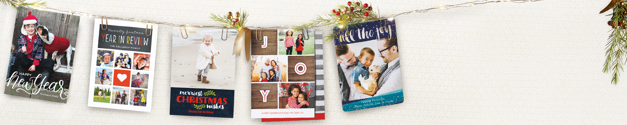 Photo Cards : Introducing our 2016 holiday card collection!