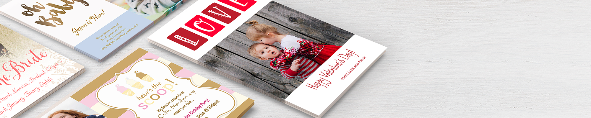 Photo Cards : For all special people and occasions in your life, cards send the perfect message.
